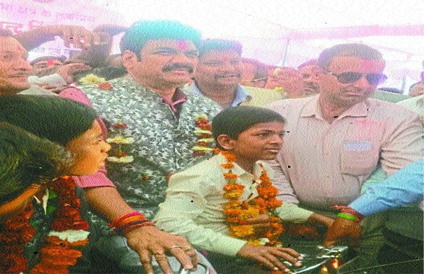 मंत्री सिंह ने किया ऋण माफी योजना का शुभारंभ