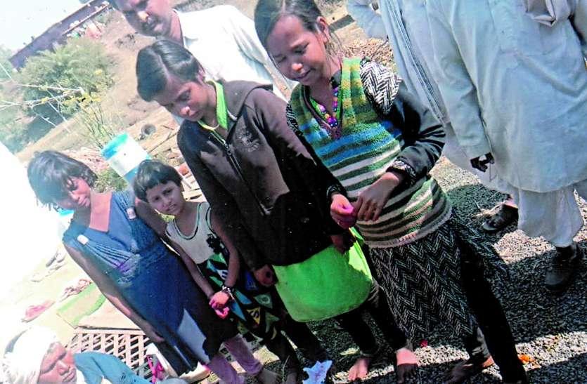 अनाथ हुईं चार बेटियों ने सीएम को लिखी दर्दभरी पाती