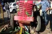 video story : भयावह हादसा...दोनों बाइकें चकनाचूर हो गईं