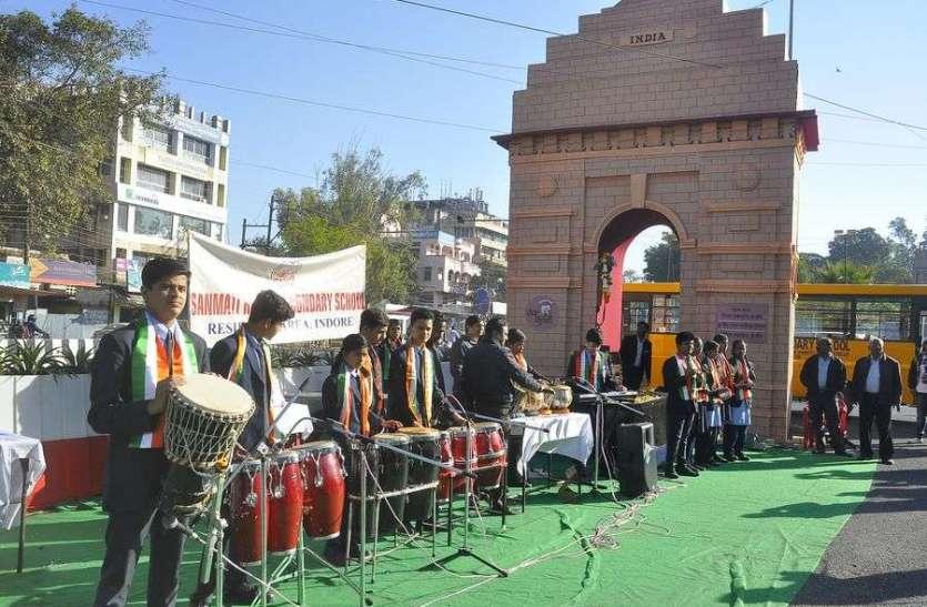 इण्डिया गेट पर संगीत की प्रस्तुती