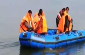 चम्बल में शुरू हुई मोटर बोट योजना, आंनद लेने पहुंचने लगे पर्यटक