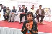 प्रतियोगिताओं में दिव्यांग बच्चों ने दिखाई प्रतिभा