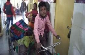 दादी का दर्द न देख पाया 10 वर्षीय राजकुमार, रिक्शे पर लिटा कर पहुंचाया अस्पताल