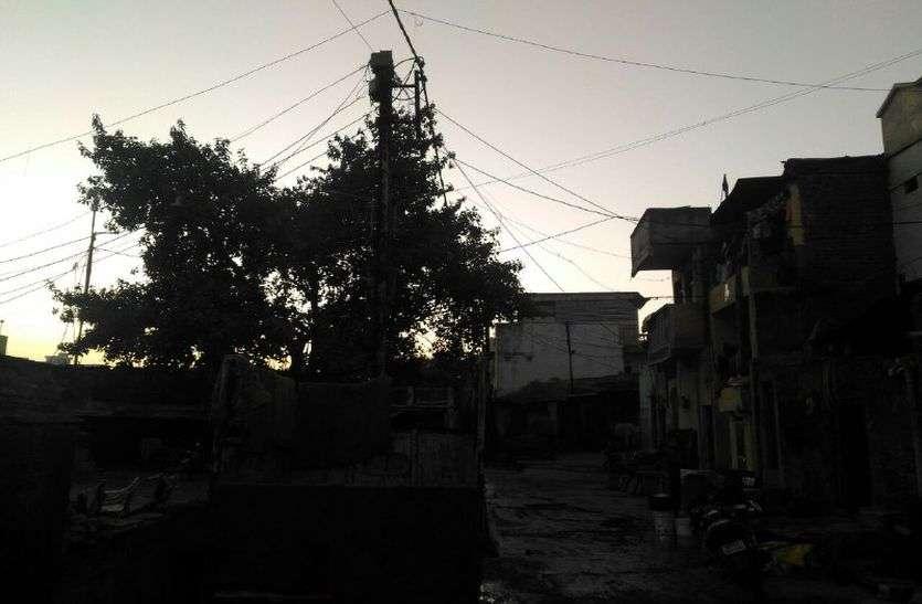 जिले के वार्डो में शाम होते पसरता अंधेरा, 250 शिकायते फिर भी जिम्मेदार नहीं देते ध्यान