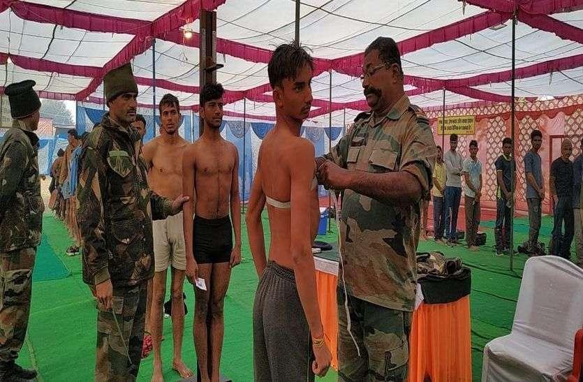 सेना भर्ती में दौड़े बुहाना के युवा, कोहरे के कारण बाधित हुई दौड़, 469 युवा उत्तीर्ण