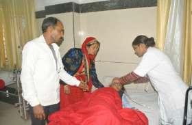 मीजल्स-रूबेला टीका से बच्चों की बिगड़ी तबियत, अस्पताल में कराया भर्ती