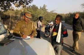 बिगड़ती यातयात व्यवस्था को दुरुस्त करने के लिए सड़क पर उतरी महोबा पुलिस