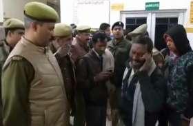 इलाज के दौरान मौत पर परिजनों ने किया अस्पताल में बवाल, बुलानी पड़ गई पुलिस