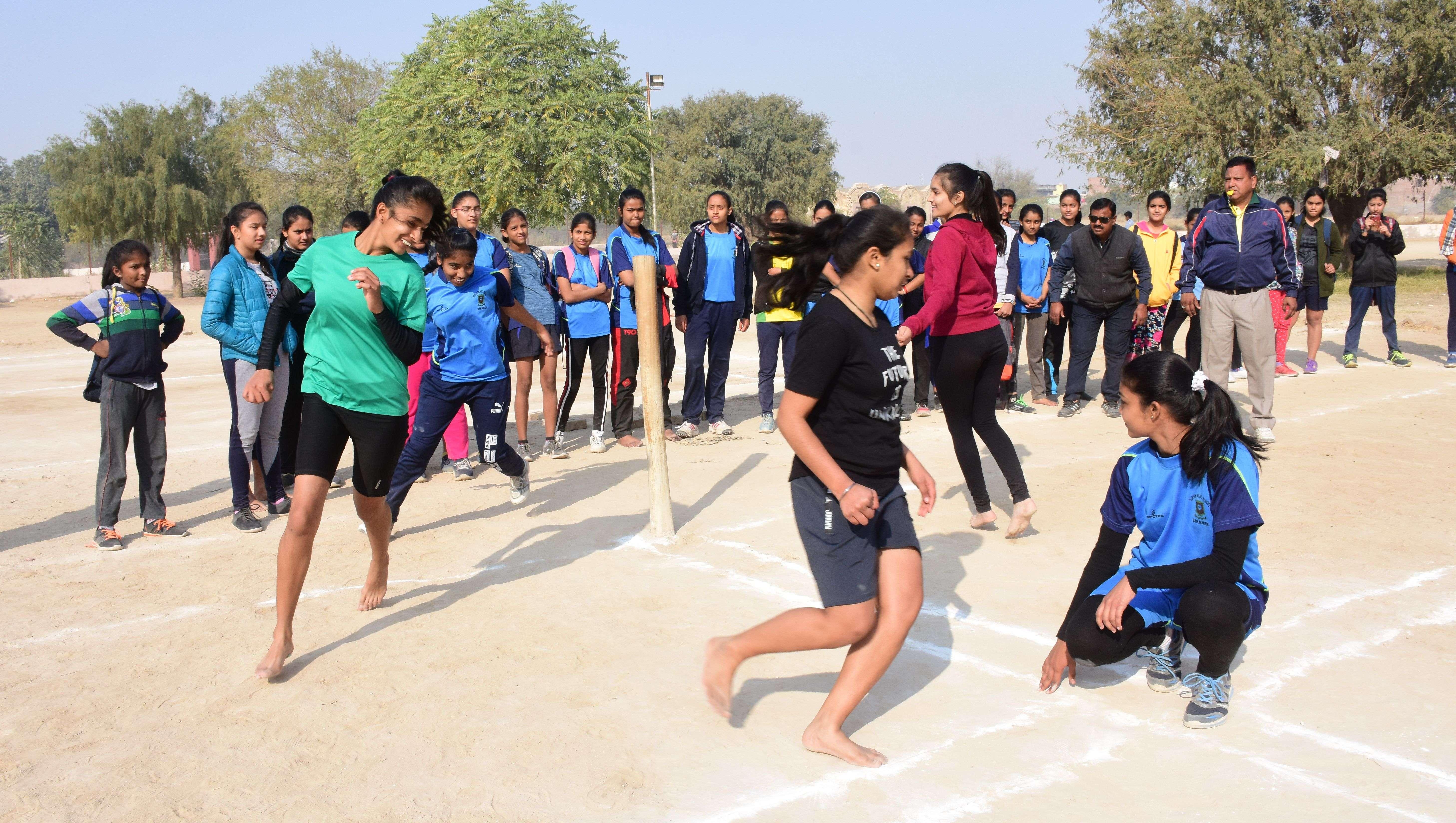 rajasthan patrika Pie School Olympics 2019 in bikaner