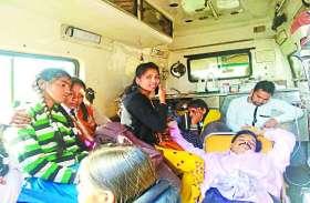 पिकनिक मनाने जा रही स्कूल बस और डंपर में हुई जबरदस्त भिड़ंत, शिक्षक सहित बच्चे घायल