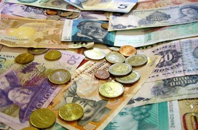 बीते सप्ताह भारत को हुआ भारी नुकसान, विदेशी पूंजी भंडार 1.26 अरब डॉलर बढ़ा