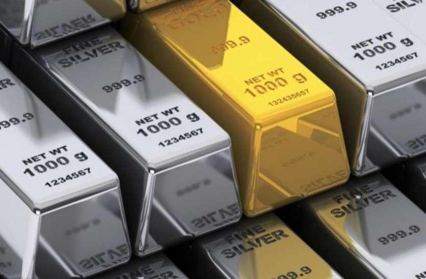 बुलियन मार्केट में फीकी पड़ी सोने-चांदी की चमक, डॉलर में गिरावट रही मुख्य वजह