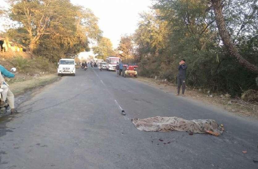 बड़ी खबर: बेलगाम ट्रक ने चार लोगों को रौंदा, सभी की मौत, इलाके में मातम