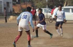 मनोरंजनालय खेल मैदान पर फुटबॉल प्रतियोगिता