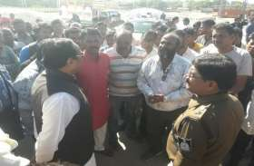 व्यापारी का ५.३० लाख रु.से भरा बैग चोरी