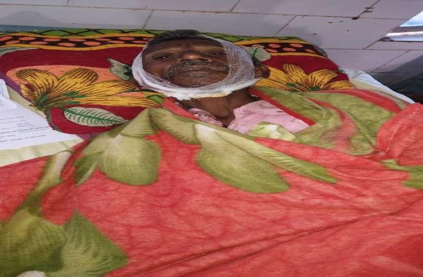 रात में खेत की पहरेदारी कर रहे पति-पत्नी पर नकाबपोशों ने किया जानलेवा हमला, हालत गंभीर