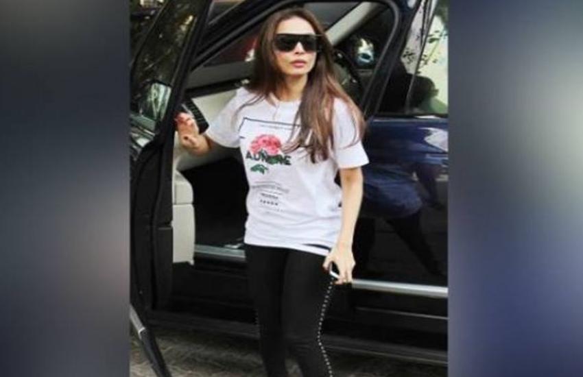 malaika arora gym look viral