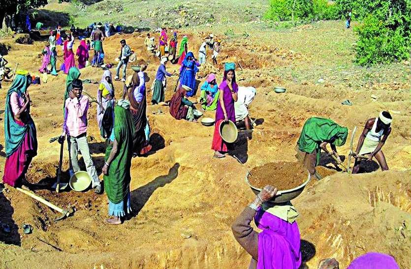 मनरेगा में बजट संकट: नहीं मिल रही मजदूरी