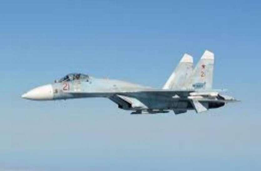 रूस: हवा में दो फाइटर जेट की हुई टक्कर, बाल-बाल बचे पायलट