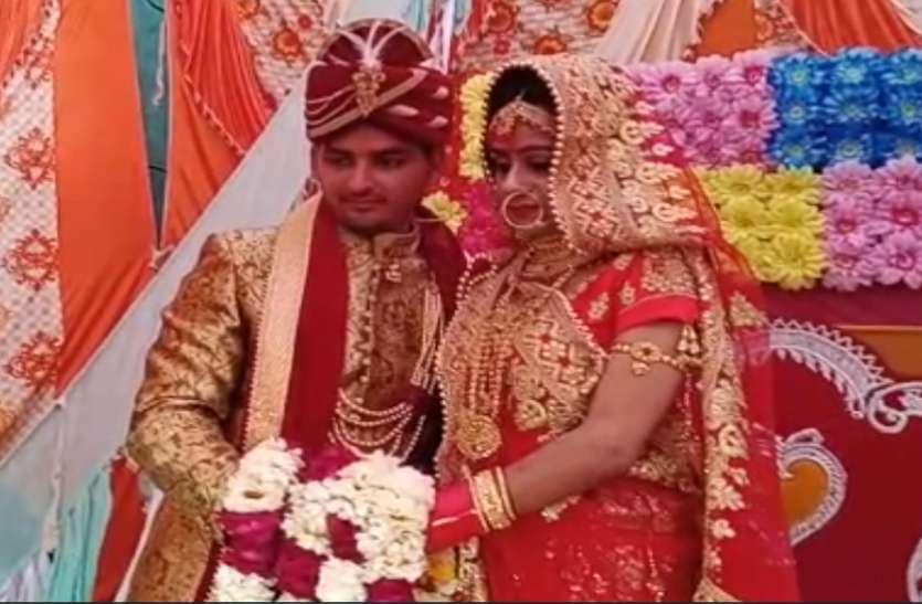 दूल्हे ने शादी पर दुल्हन का दिया एेसा सरप्राइज कि देखने वालों की लग गर्इ भीड़