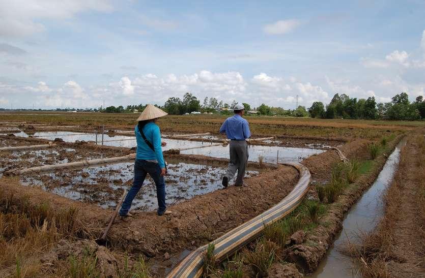 नई सरकार ने लिया फैसला, अब खेती-किसानी के बाद ही उद्योगों को दिया जाएगा पानी