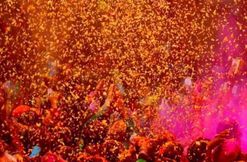 फूलों की होली के संग 'सनातन गोमती महोत्सव' का हुआ समापन