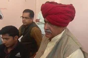बीस दिन में आरक्षण दो वरना आर पार का आंदोलन होगा: कर्नल किरोड़ी सिंह बैंसला