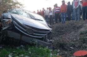 शराब पीकर कार चला रहे युवक ने 8 को कुचला, लोगों ने जमकर कर दी पिटाई