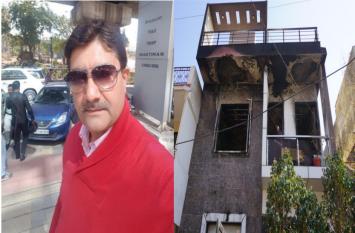 राजस्थान के पूर्व रणजी खिलाड़ी की आग में झुलसकर मौत