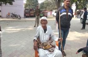 अपनी बदहाली की कहानी सुनाते-सुनाते फफक-फफक पर रो पड़े आजाद हिंद फौज के स्वसंत्रता सेनानी