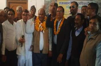 त्रिलोक सिंह निर्विरोध बने संघ के प्रदेशाध्यक्ष