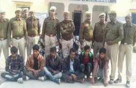 नकबजन व वाहन चोर गिरोह पकड़ा, छह गिरफ्तार