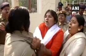 पिपिली दुष्कर्म मामला: भाजपा महिला मोर्चा की सदस्य पर सरेराह पुलिस को पीटने का आरोप