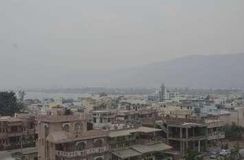 pics : बादलों के आगोश में अजमेर...
