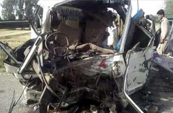 पाकिस्तान: बस और ट्रक की भिड़ंत में 26 लोगों की मौत, 16 घायल