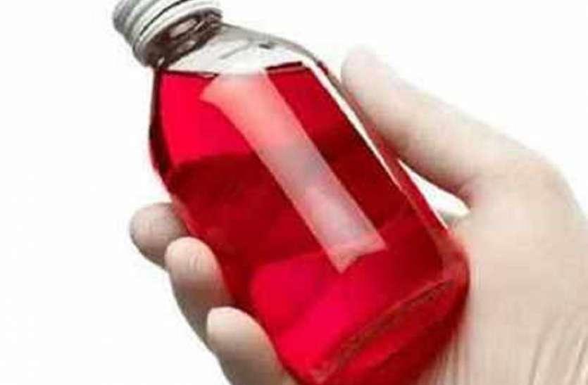 कोलकाता से १८ हजार बोतल फें सीड्रिल कफ सिरप जब्त, दो गिरफ्तार