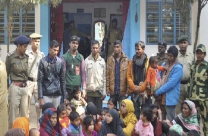 बीएसएफ ने 31 रोहिंग्या मुसलमानों को पकड़ा, त्रिपुरा पुलिस के सुपूर्द किया