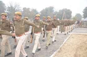गणतंत्र दिवस की तैयारी, पीटी-परेड़ का रिहर्सल, सुरक्षा के पुख्ता इंतजाम