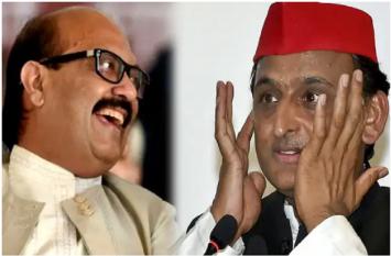 # kumbh सांसद अमर सिंह ने अखिलेश यादव को लेकर दिया विवादित बयान,कहा प्रियंका गांधी के पैरों...