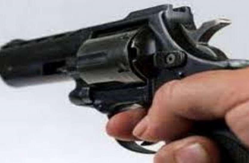 बंदूक के साथ युवक गिरफ्तार
