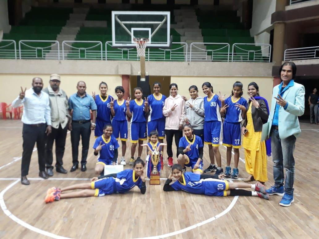 57 वी मप्र सीनियर बास्केटबॉल चैंपियनशिप का आयोजन इंदौर में हुआ संपन्न