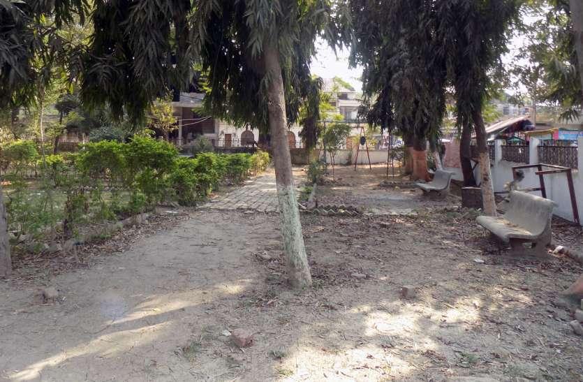 काबरा उद्यान में हो रहा कायाकल्प लेकिन प्रियदर्शनी पार्क बदहाल