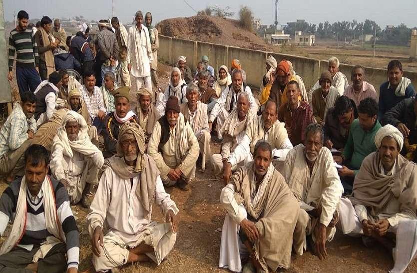जांच टीम ने किया पचास किसानों का लिखित बयान दर्ज