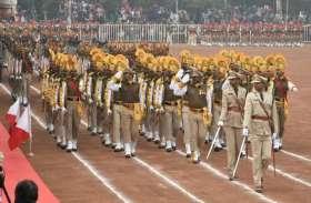 Republic Day 2019: एनसीसी कैडेट्स और पुलिस जवानों ने दी सलामी - Photo