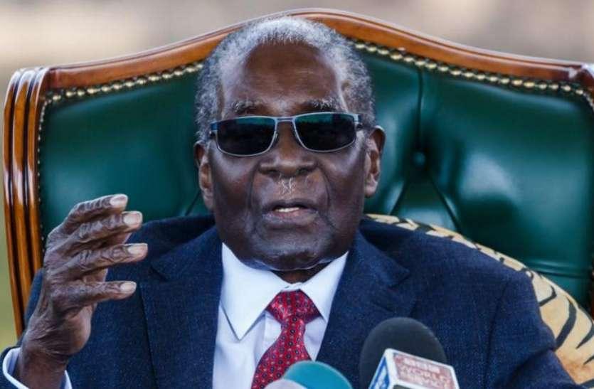 जिम्बाब्वे के पूर्व राष्ट्रपति रॉबर्ट मुगाबे के घर से 70 करोड़ की चोरी