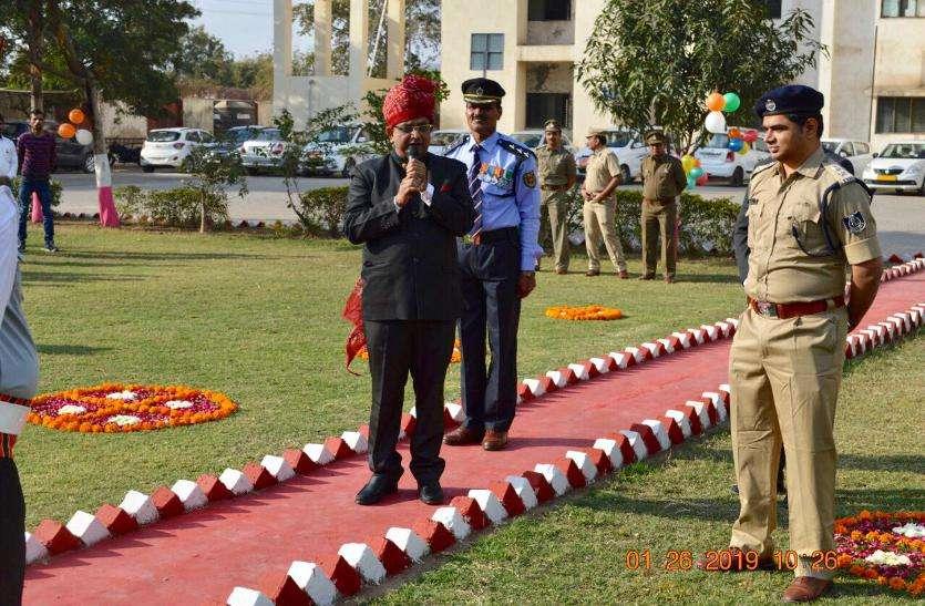 आईसीडी-खोडिय़ार में मनाया गया गणतंत्र दिवस