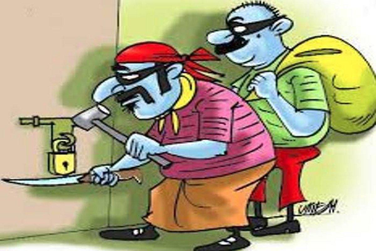 सूने मकान पर चोरों का धावा, जेवरात और नकदी चुराए