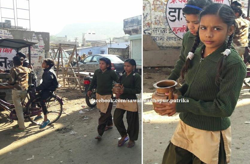 घरों से पानी मंगाकर बुझा रहे विद्यार्थी व शिक्षक प्यास, कोर्ट के आदेश के बाद भी नहीं सुधर रहा ढर्रा