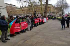 ब्रिटेन: बलूचिस्तान के नेताओं का जोरदार प्रदर्शन, पाकिस्तान सरकार पर दबाव बनाने की मांग