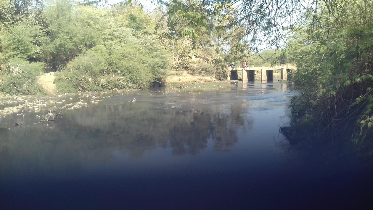 प्राचीन सोनभद्रिका नदी नाले में तब्दील